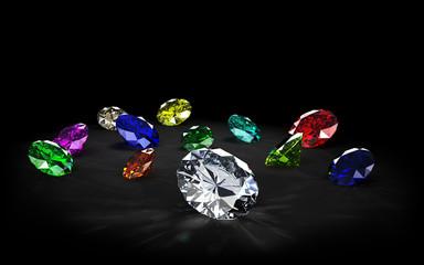 gemstones - precious stones