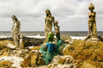 Skulpturen in Punta del Este, Uruguay