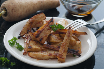 Maple Roast Parsnip