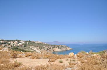 Rocky shore of the sea