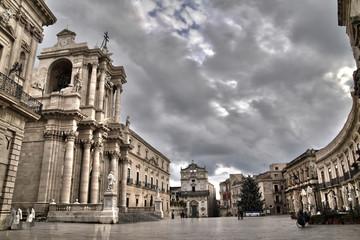 Piazza Duomo-Siracusa Fototapete