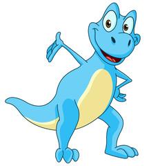 Dinosaur presenting