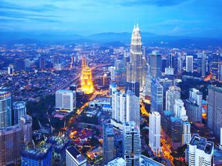 Canvas Prints Kuala Lumpur Kuala Lumpur cityscape