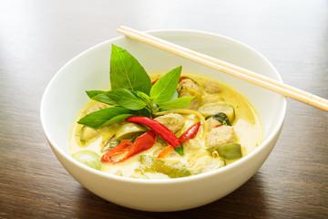 curry vert, Thaïlande