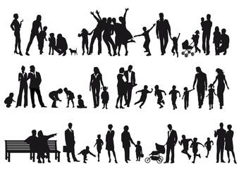 Familien und Eltern
