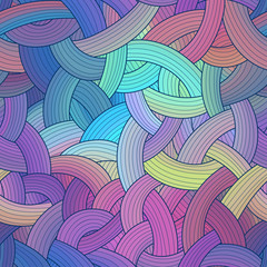 Colorful seamless stripes background, rainbow