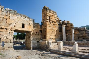 Ruins of Hierapolis, now Pamukkale