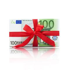 Euro Bündel mit Schleife