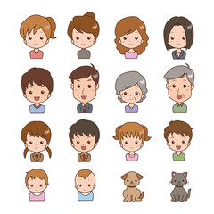 家族/バリエーション