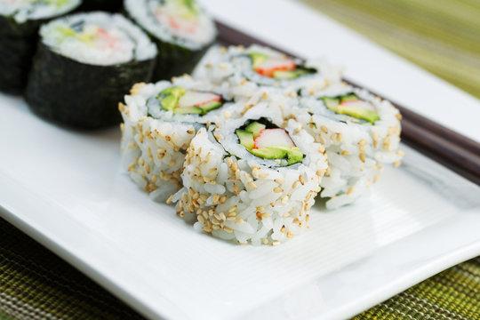 California Sushi Rolls ready to Eat