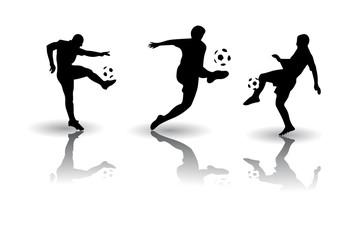 Football soccer sports Vector