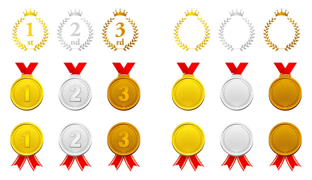 ランキング メダル