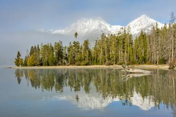 Autumn mountain scene in Idaho