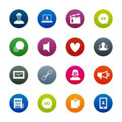 Social Networks icons – Kirrkle series
