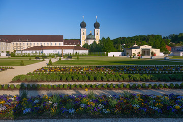 Fotomurales - Metten, Benediktinerkloster, Klosterkirche