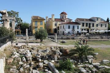 Griechenland Athen Römische Agora