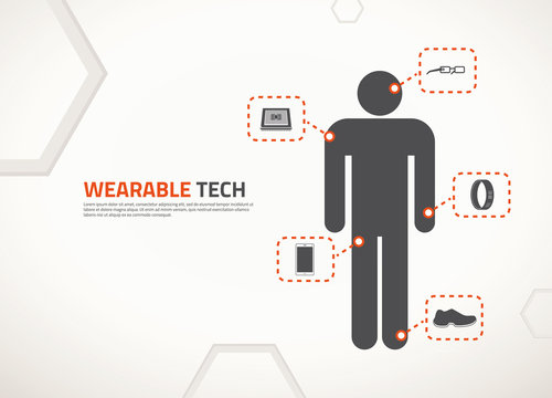 Vector design for wearable technology