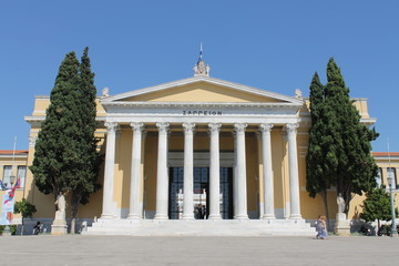 Griechenland Athen Zappaeion