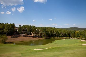 Fotobehang Golf Golf course