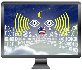Watching the internet, privacy at stake
