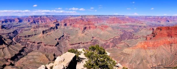 Fototapete - Panoramic view over the vast Grand Canyon, Arizona, USA