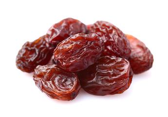 Raisins in closeup