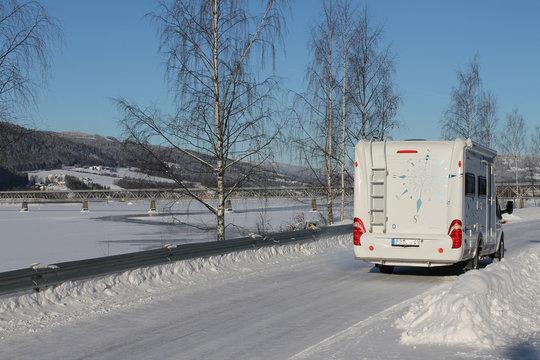 Wohnmobil Norwegen Camping