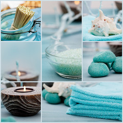 Spa purity collage