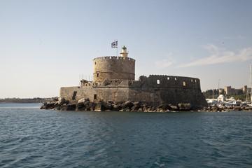 Крепость Святого Николая. Родос