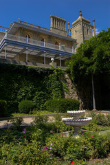 Facciata sud del Palazzo Vorontsov, Alupka - Crimea - Ucraina