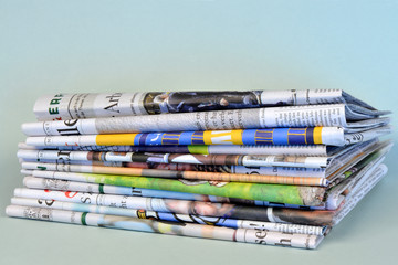 Tageszeitungen, Medien, Print, Presse, Zeitungen, Altpapier
