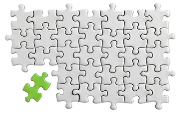 Jigsaw Puzzle/clipping path