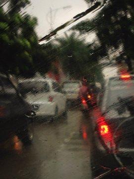 when the rain is come