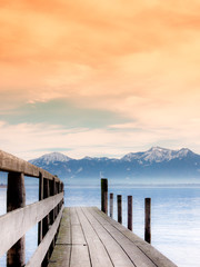 jetty on lake chiemsee (82)