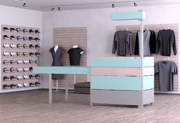Moderner Shop
