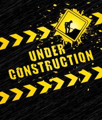 Under construction background.