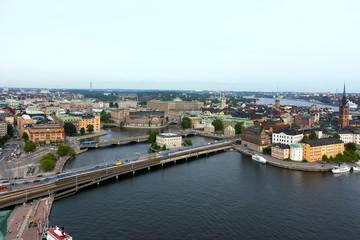 ストックホルム、島々を結ぶ橋