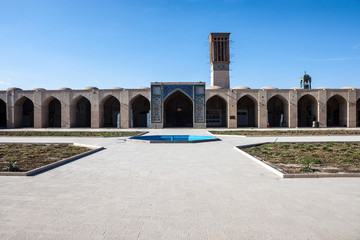 Ganj Ali Khan square in Kerman, Iran