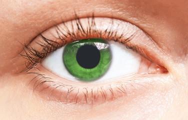 green eyes girl