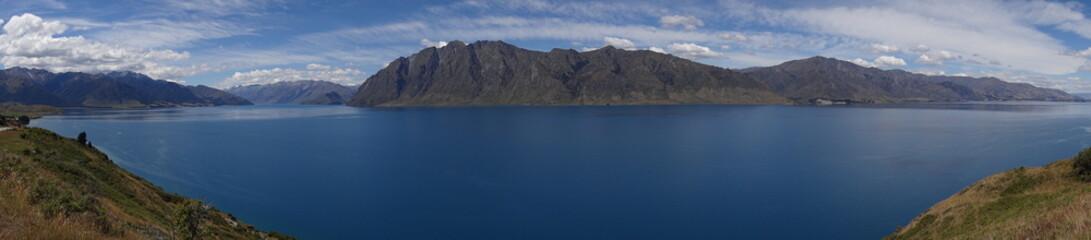 Aluminium Prints New Zealand Lake Wanaka. Queenstown. Neuseeland / New Zealand.