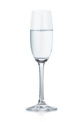 wineglass glass water