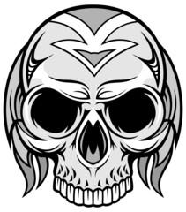 artistic skull 02