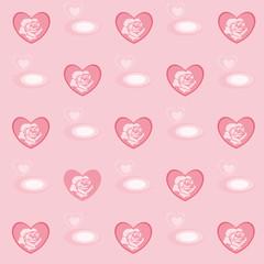 Lieblicher Herzen Hintergrund