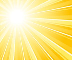 Commercial sunburst background.
