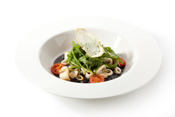 Cuttlefish Ink Risotto