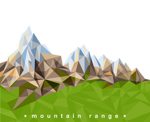 mountain range