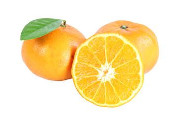 Fresh mandarin Orange.