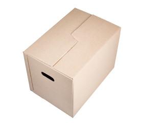 Brown Carton Moving Box