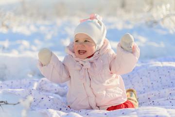 Having Fun in Snow