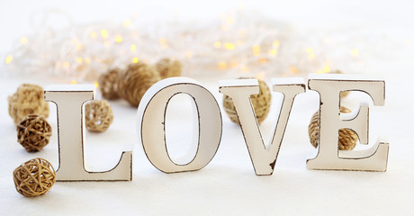 Love and garland